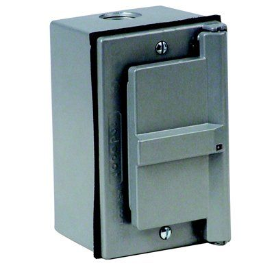 REDDOT 17-5/16 cu in 1-Gang Outdoor Outlet Box Kit with GFCI ...