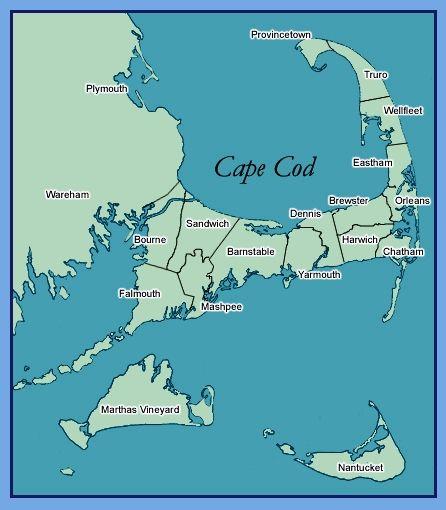 map boston to cape cod Boston Cape Cod Google Zoeken Cape Cod Map Cape Cod East map boston to cape cod