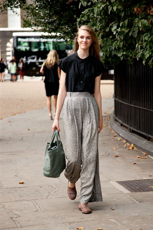 Look - Style street chronicles london fashion week fall video