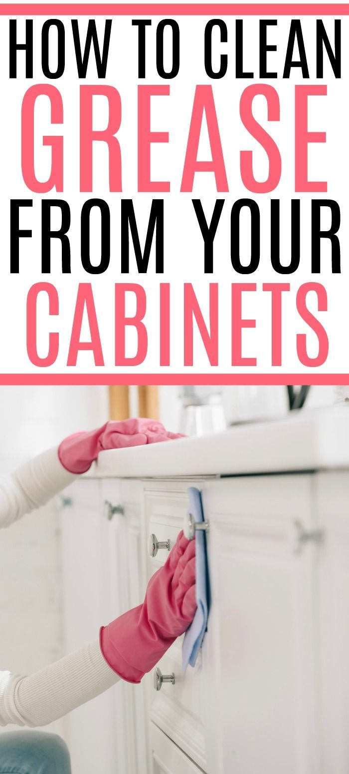 How to Remove Grease From Cabinets in 2020 (With images ...