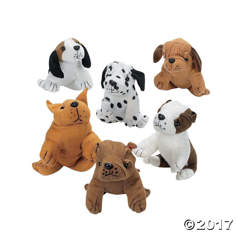 Plush Realistic Dogs - OrientalTrading.com