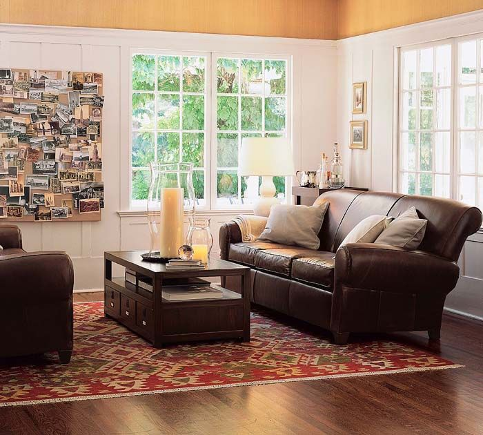 Living Room Furnishings And Design Fair Leather Couch Living Room  Google Search  Neutrals & Darks Design Ideas