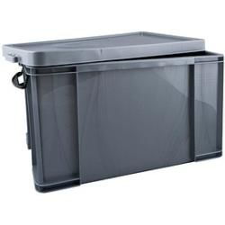 Photo of Really Useful Box Aufbewahrungsbox 84,0 l silber 71,0 x 44,0 x 38,0 cm Really Useful