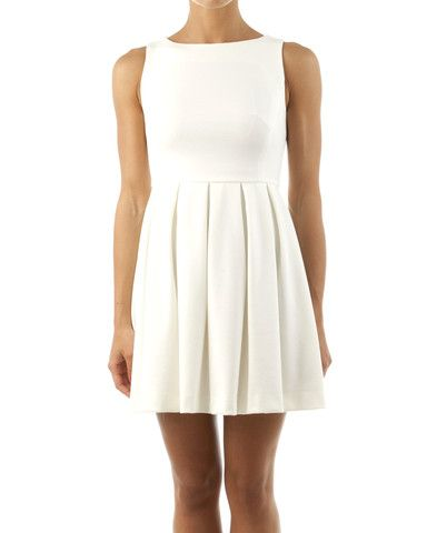 Blanca Luz Pleated White Dress starting at $454.36 #blanca_luz #womens_dresses at @londonopulence