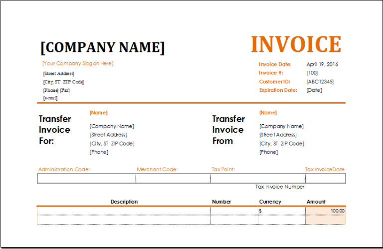 Ms Excel Consignment Invoice Template Excel Invoice Templates Invoice Template Invoicing Invoice Sample