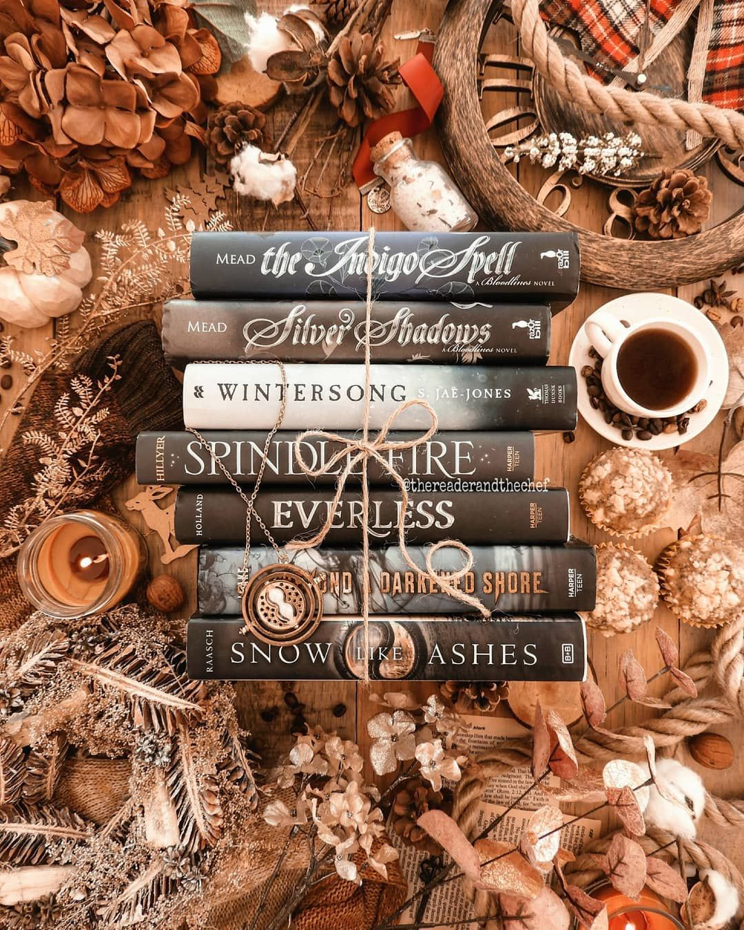 A Combination Of Books With Christmas Decorations Bookstagram Books Bookphoto Coffeeandbooks Bookstack Bookae Christmas Books Bookstagram Book Aesthetic