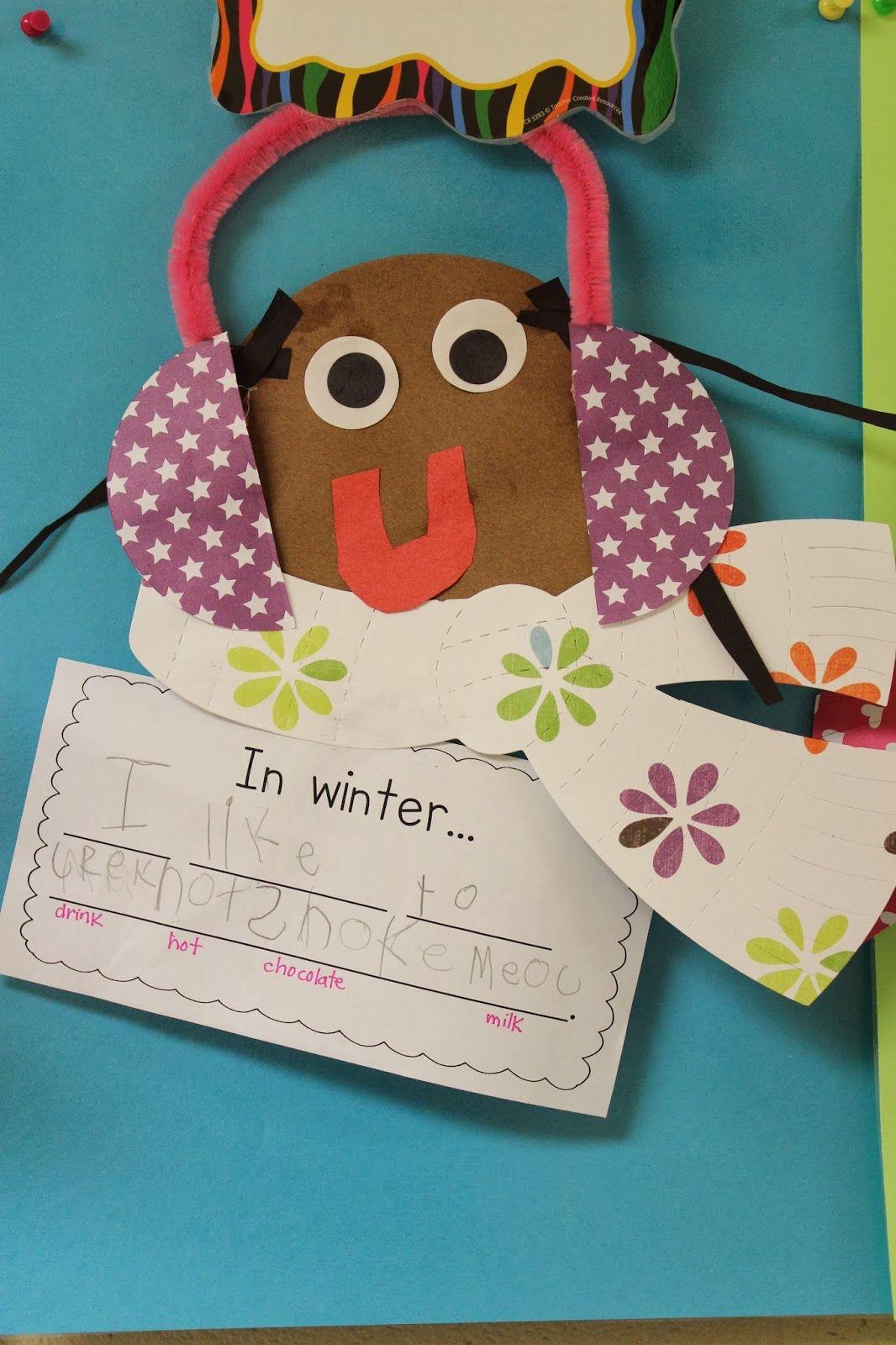 Mrs Lee S Kindergarten Winter Centers Amp Olbut Gol