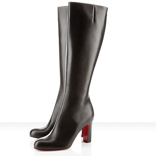 2c26fad83c6 Christian Louboutin Miss Tack Botta 85mm Leather Boots Black | high ...