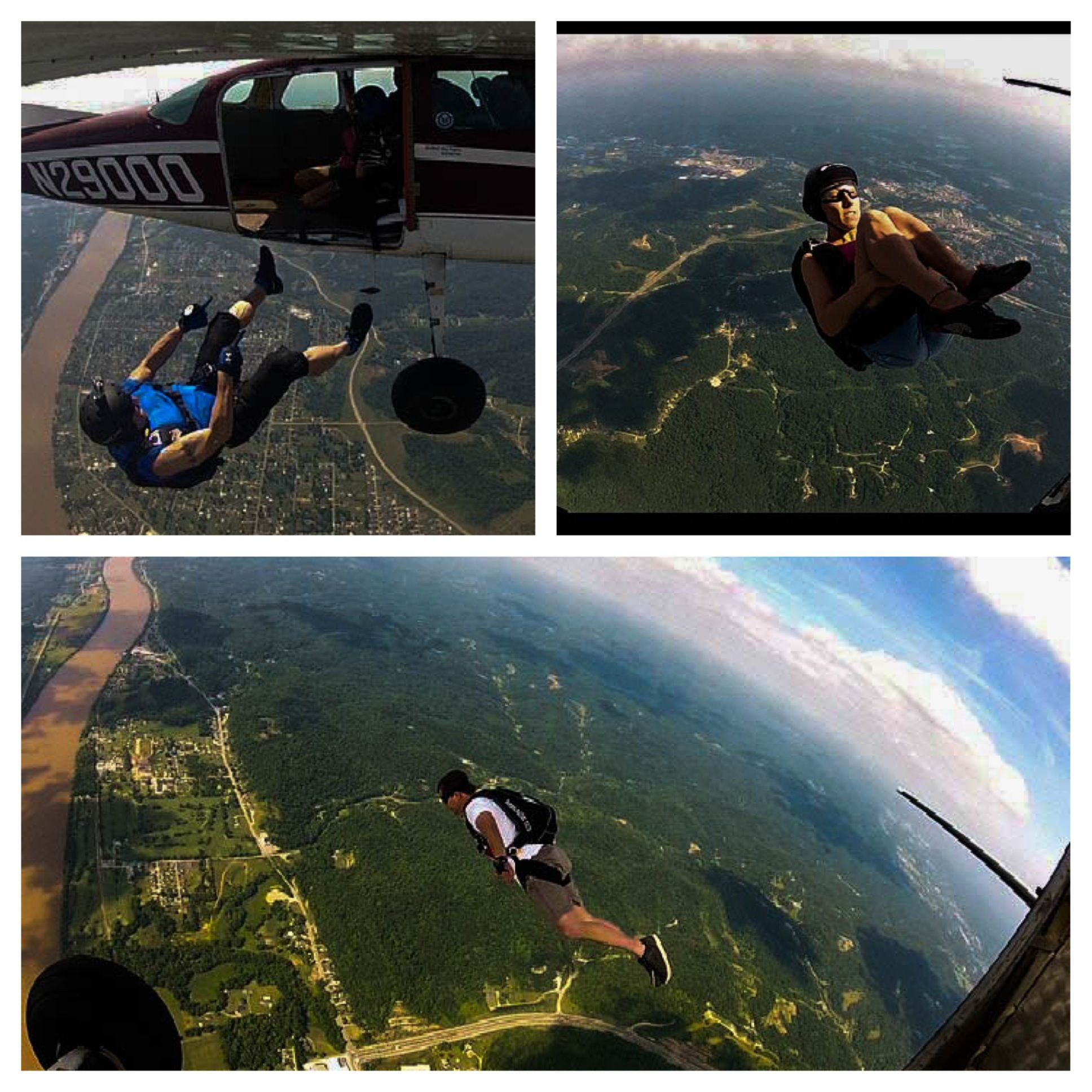 Just A Day In The Jumper S World At Wv Skydivers Barboursville Wv Skydivewv Com West Virginia Mountains Skydiving West Virginia
