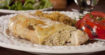 Smothered Chicken Florentine