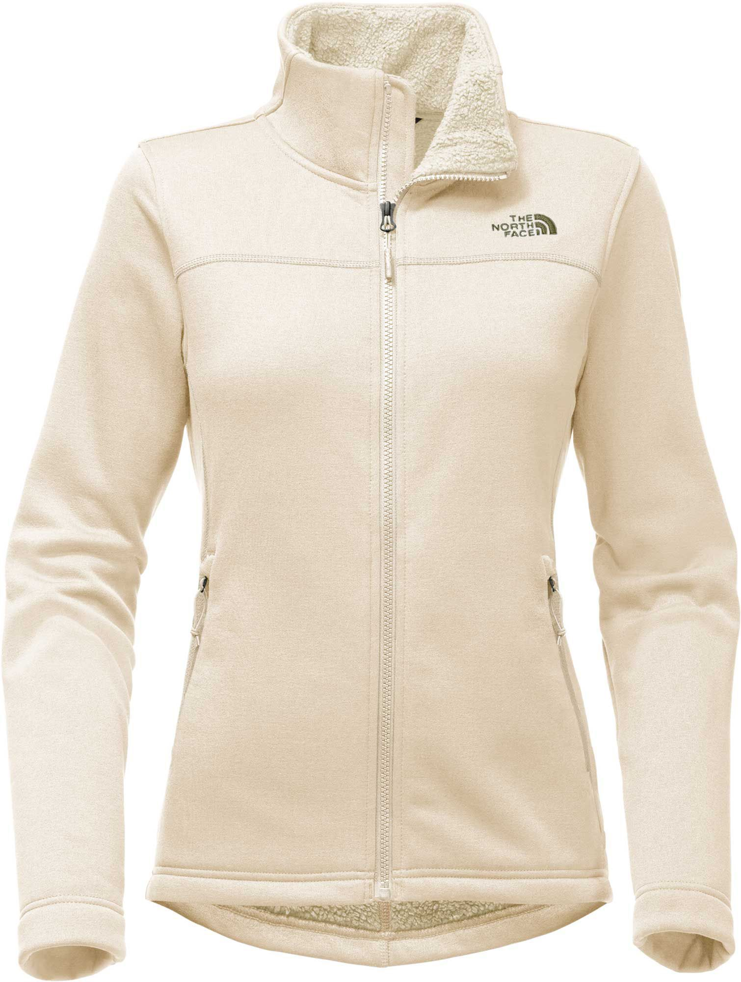 The north face womenus timber full zip fleece jacket size xl