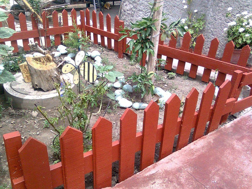 Como hacer puertas para jardin hacer bricolaje es - Rejas para jardin ...