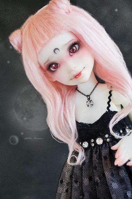 Black Lady Reira - Atelier Momoni Doll + | par Lola · Atelier Momoni +
