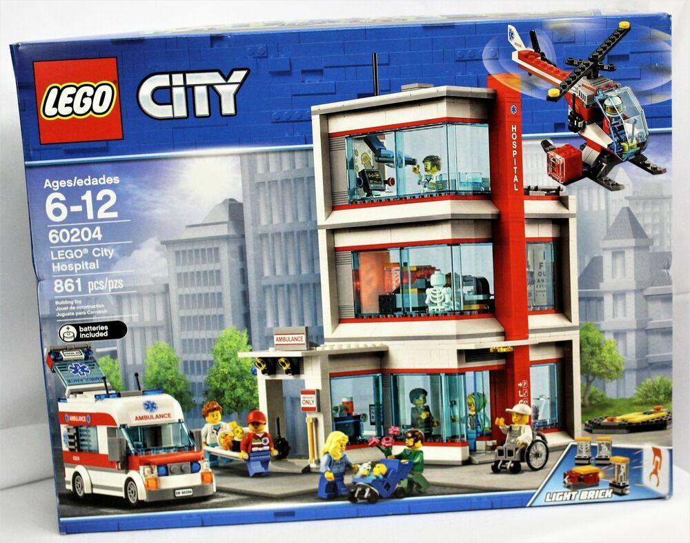 Lego City Hospital Set #60204 #afflink When you click on ...