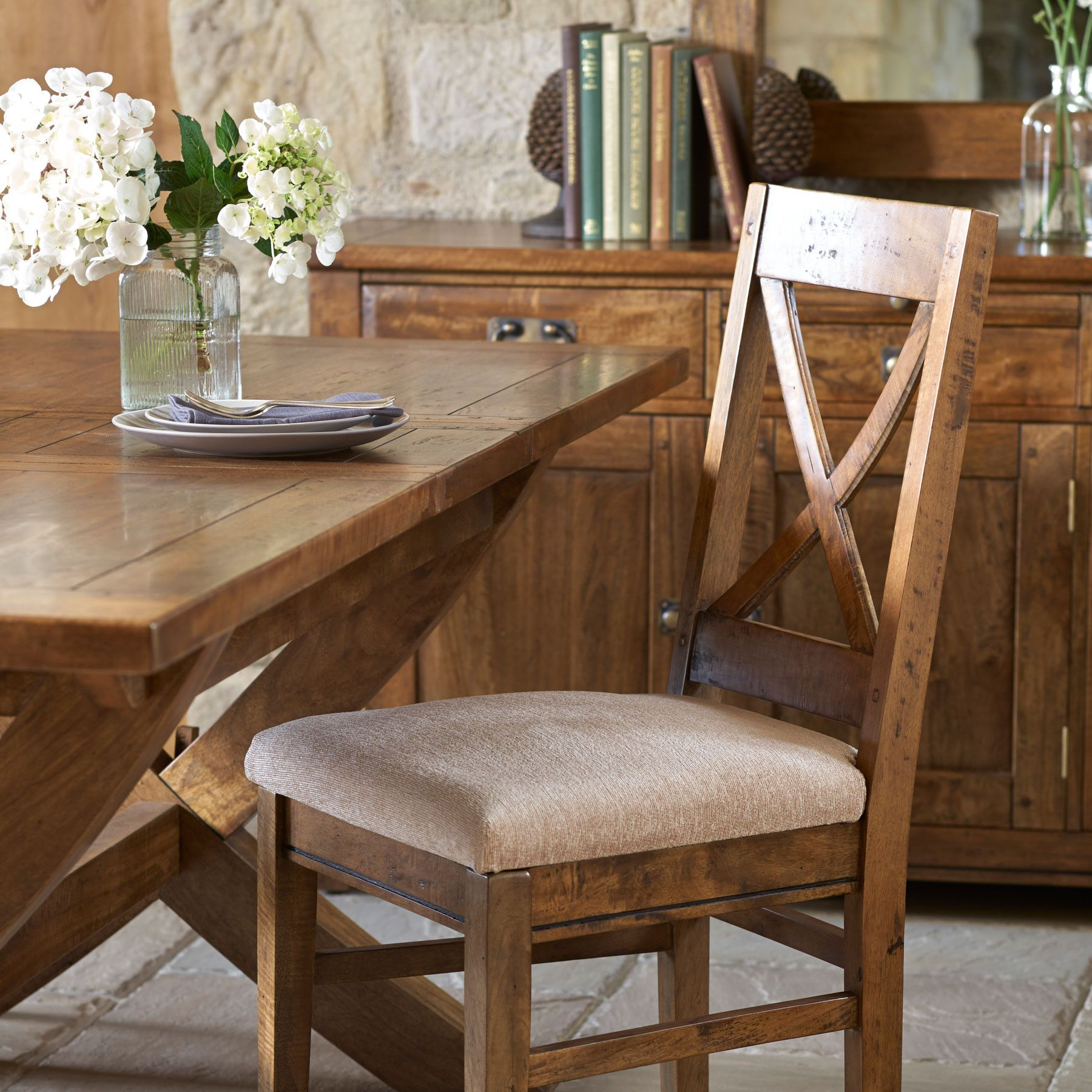 Mango Wood Dining Chairs   Stuhlede.com   Dining chairs, Acrylic ...