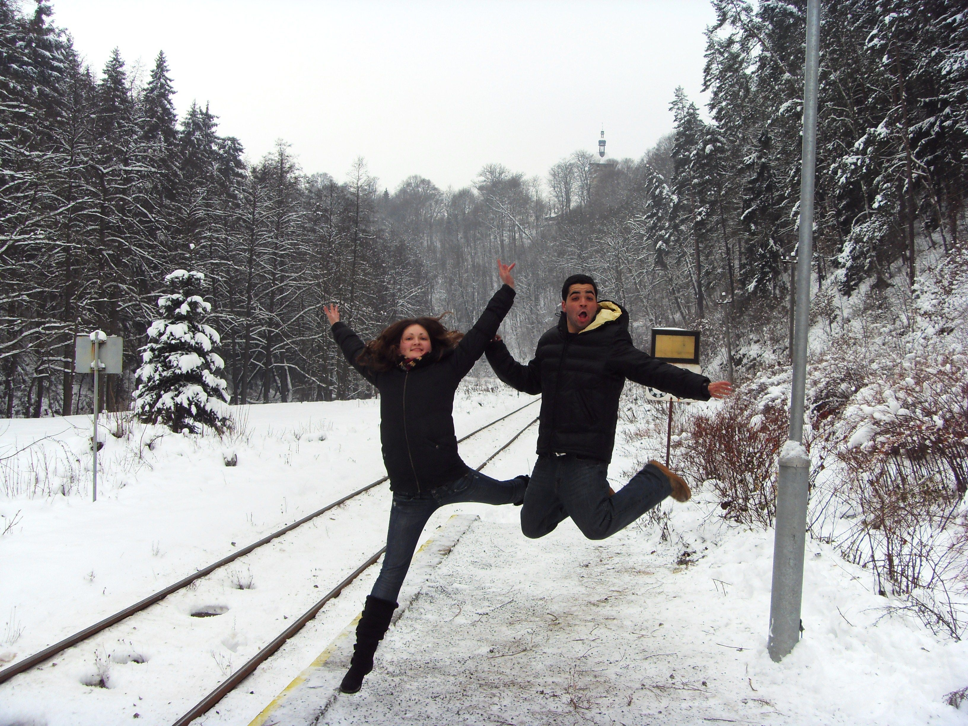 Successful Jump To New Year By Lina Karvelytė How To Be Outgoing In This Moment The Past