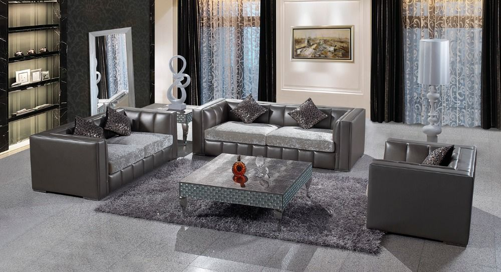Find More Living Room Sofas Information About JIXINGE Chesterfield Sofa European Leather 123 Combination