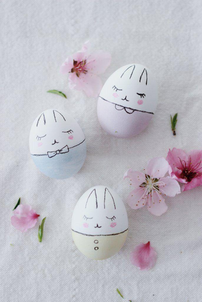 Ideas bonitas para decorar Huevos de Pascua | CASCARONES DE PASCUA ...