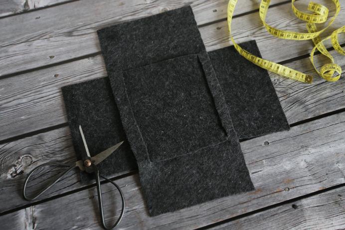 diy by fr ulein coquetterie fixe k rbchen aus wollfilz aufbewahren pinterest. Black Bedroom Furniture Sets. Home Design Ideas