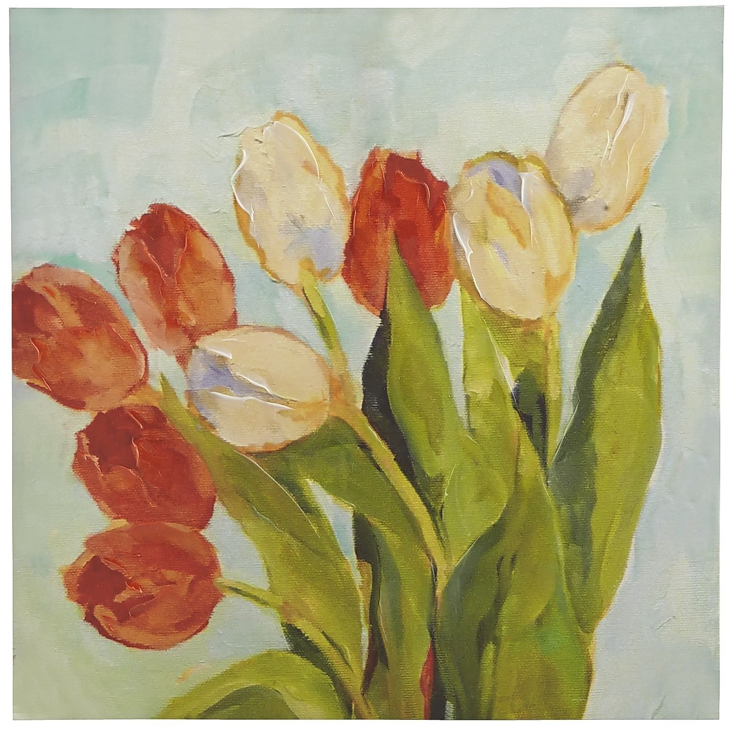 Blooming Tulips Art I | Pier 1 Imports | wall art | Pinterest ...