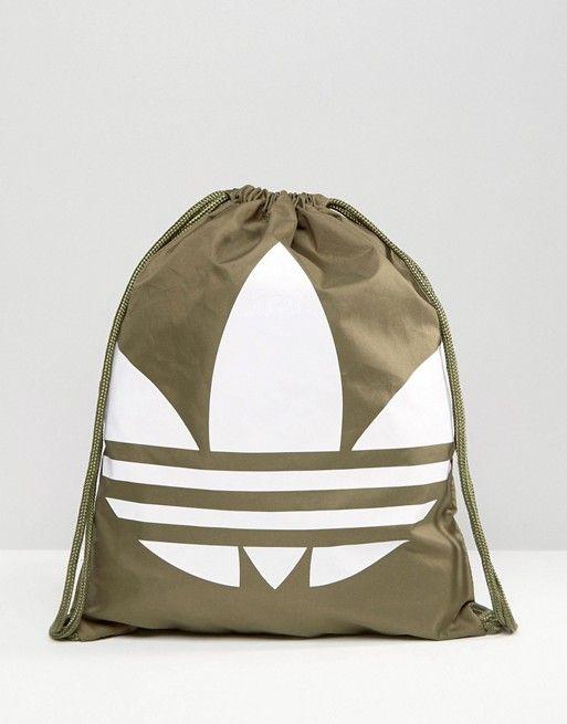adidas Originals Drawstring Backpack With Trefoil Logo