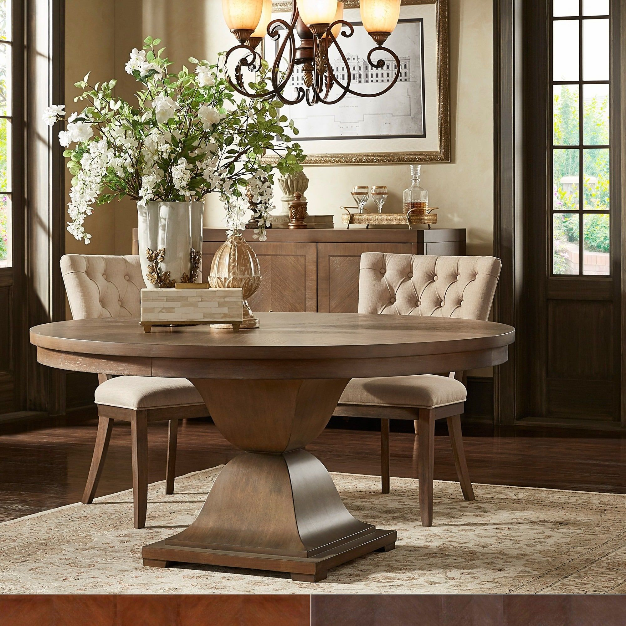 Our Best Dining Room Bar Furniture Deals Round Dining Room Round Dining Room Table Round Wood Dining Table