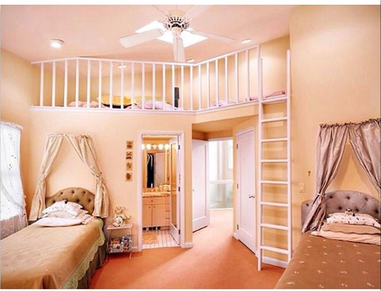 Teenage loft bed ideas  Dream room  my bedroom  Pinterest  Dream rooms Room and Room ideas
