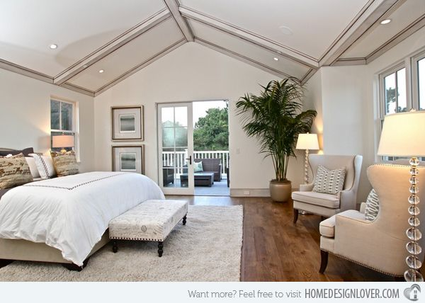 15 charismatic sloped ceiling bedrooms ceilings bedrooms and attic Master bedroom with sloped ceiling