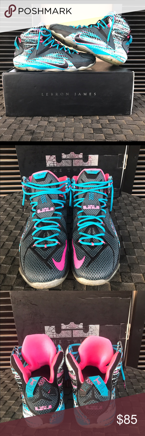 sports shoes 023b7 a5752 LeBron 12 23 Chromosome(Cotton Candy) Had for a couple of years but am