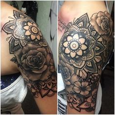 9a13e23b1 Mandala Flower sleeve - Google Търсене | Tattoos | Full sleeve ...