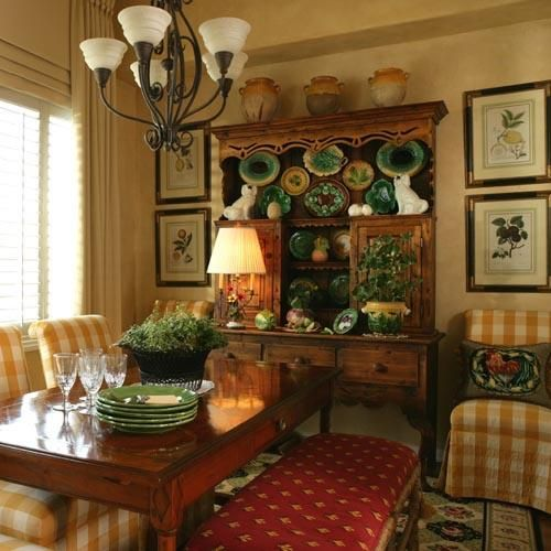 Country House Decor, French Country Dining