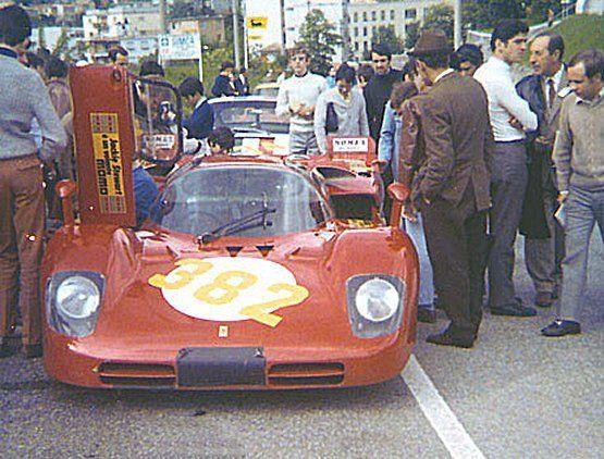 Ferrari 512S TriesteOpicina 1970 1° Giampiero Moretti