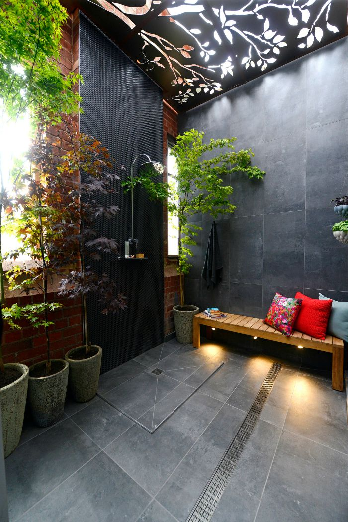 Faux plafond metallique Salle de bains Pinterest Dark - faux plafond salle de bain