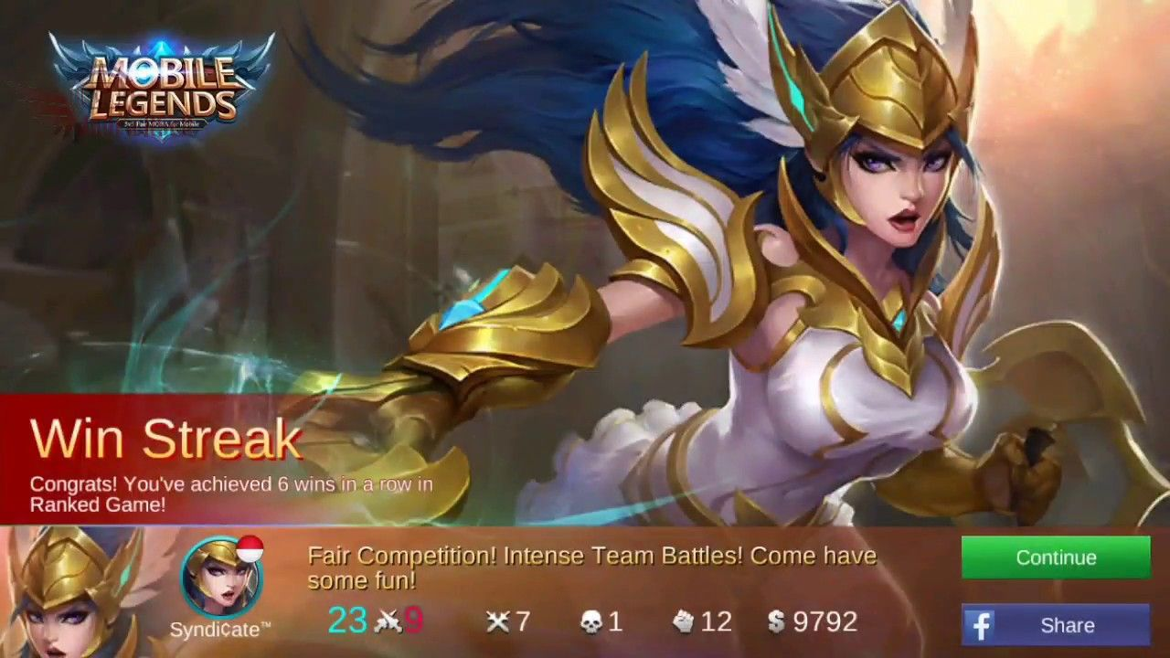 FREYA GAMEPLAY - TIM KEREN - MOBILE LEGENDS INDONESIA