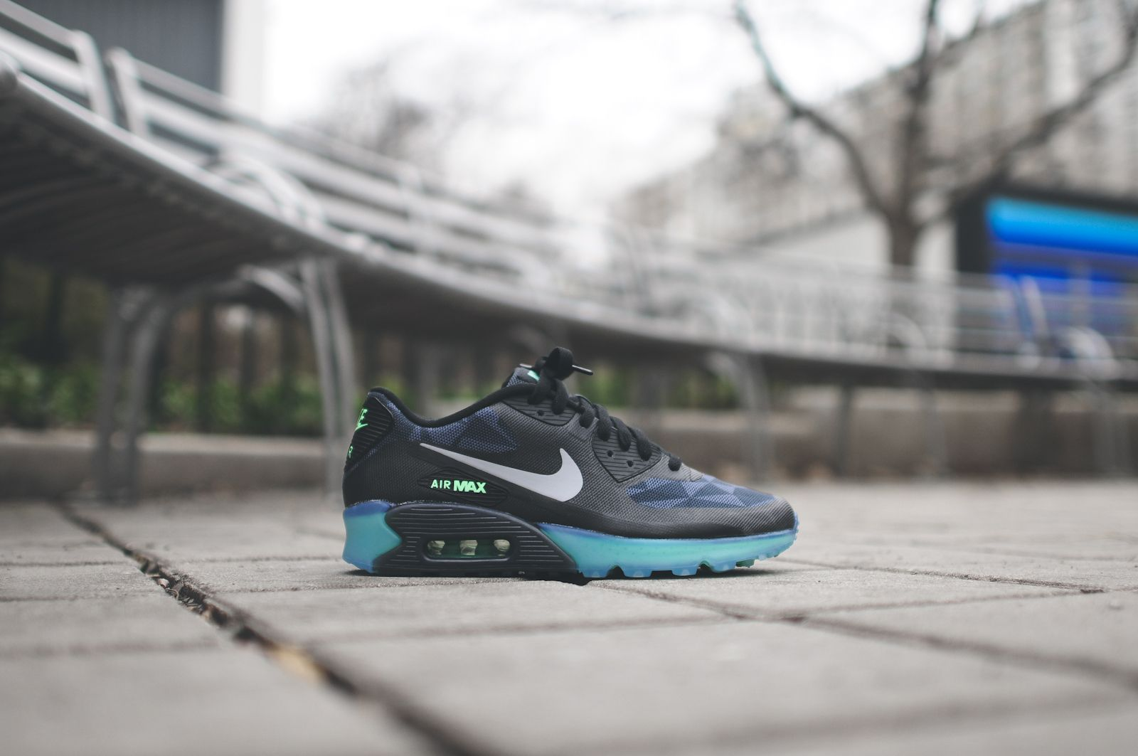 new styles 41c50 d4495 nike air max 90 ice qs triangle camo