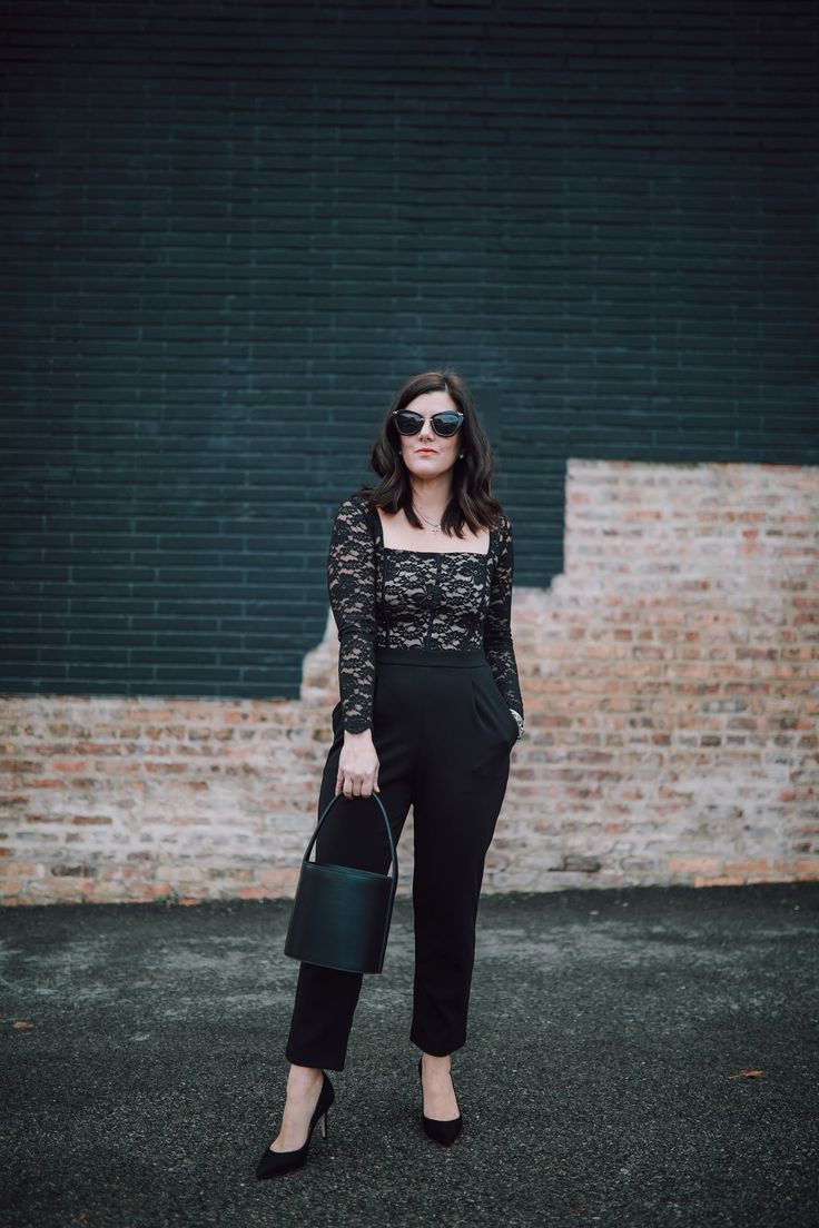A Case For The Lace Jumpsuit This Holiday Season