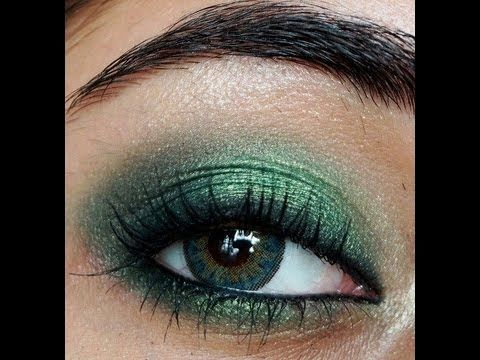 how to make green or hazel eyes look more green  makeup