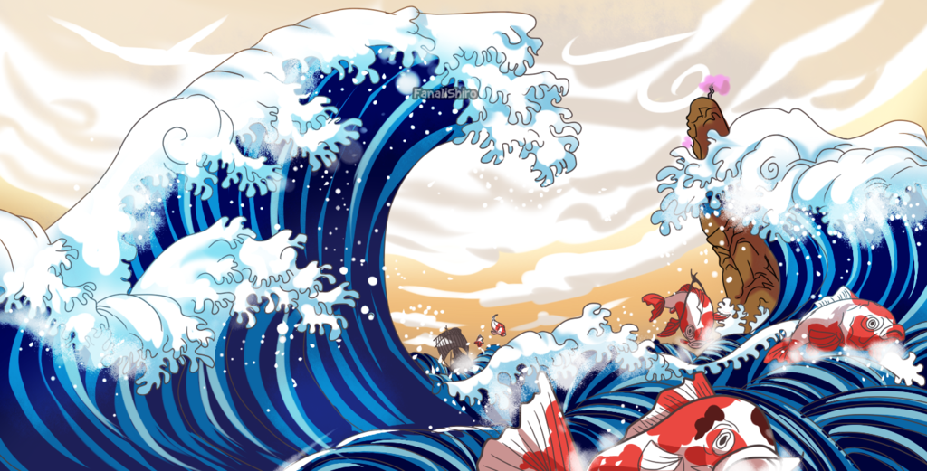 Wave Of Wano One Piece Ch 910 By Fanalishiro Anime Wallpaper One Piece Anime Asian Art Get us on google play store. wave of wano one piece ch 910 by