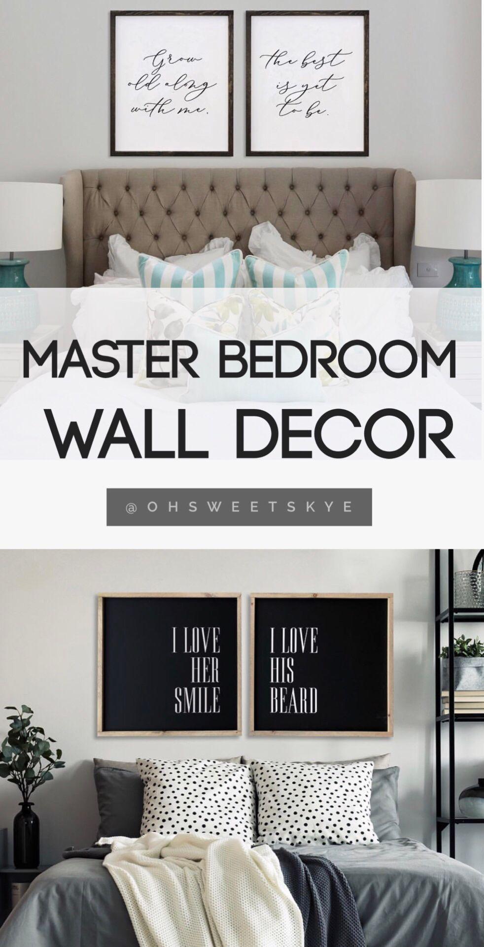 Master Bedroom Wall Decor Master Bedroom Decoration Ideas