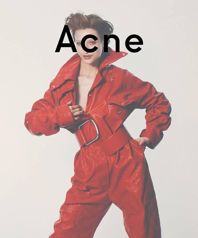 www.acnestudios.com Acne Studios fall/winter 2016 advertising campaign starring Lera Abova photographed by David Sims with the collaboration of Vanessa Reid (fashion editor/stylist), Paul Hanlon (hair stylist) and Lauren Parsons (makeup artist). Check...