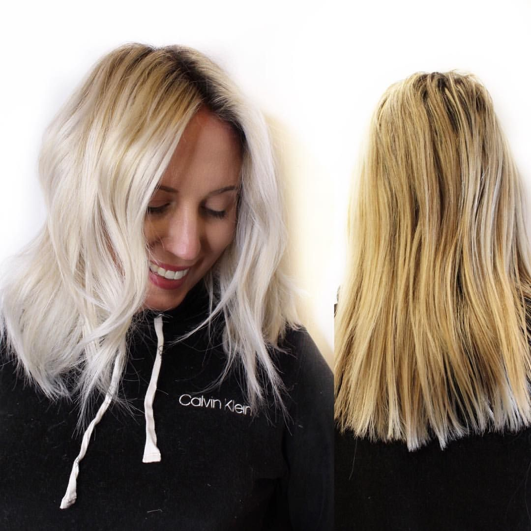 Platinum Card Alert This Beauty Got The Full Card Platinum Card Means Every Hair In A Foil I Did This One A Little Different I Hair Beauty Balayage