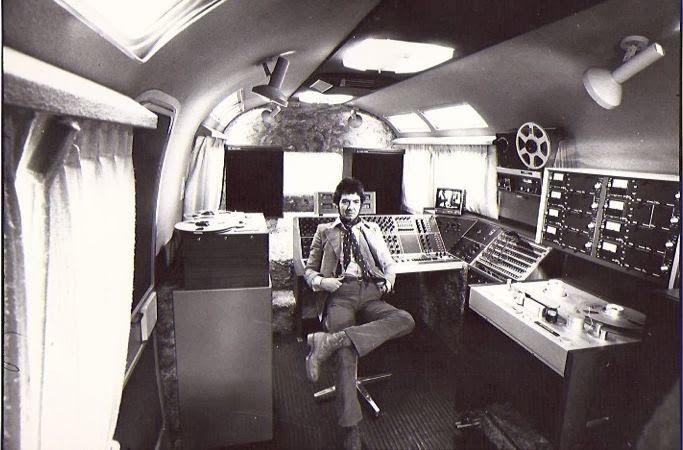 Ronnie Lane In His Mobile Studio Mobile Recording Studio