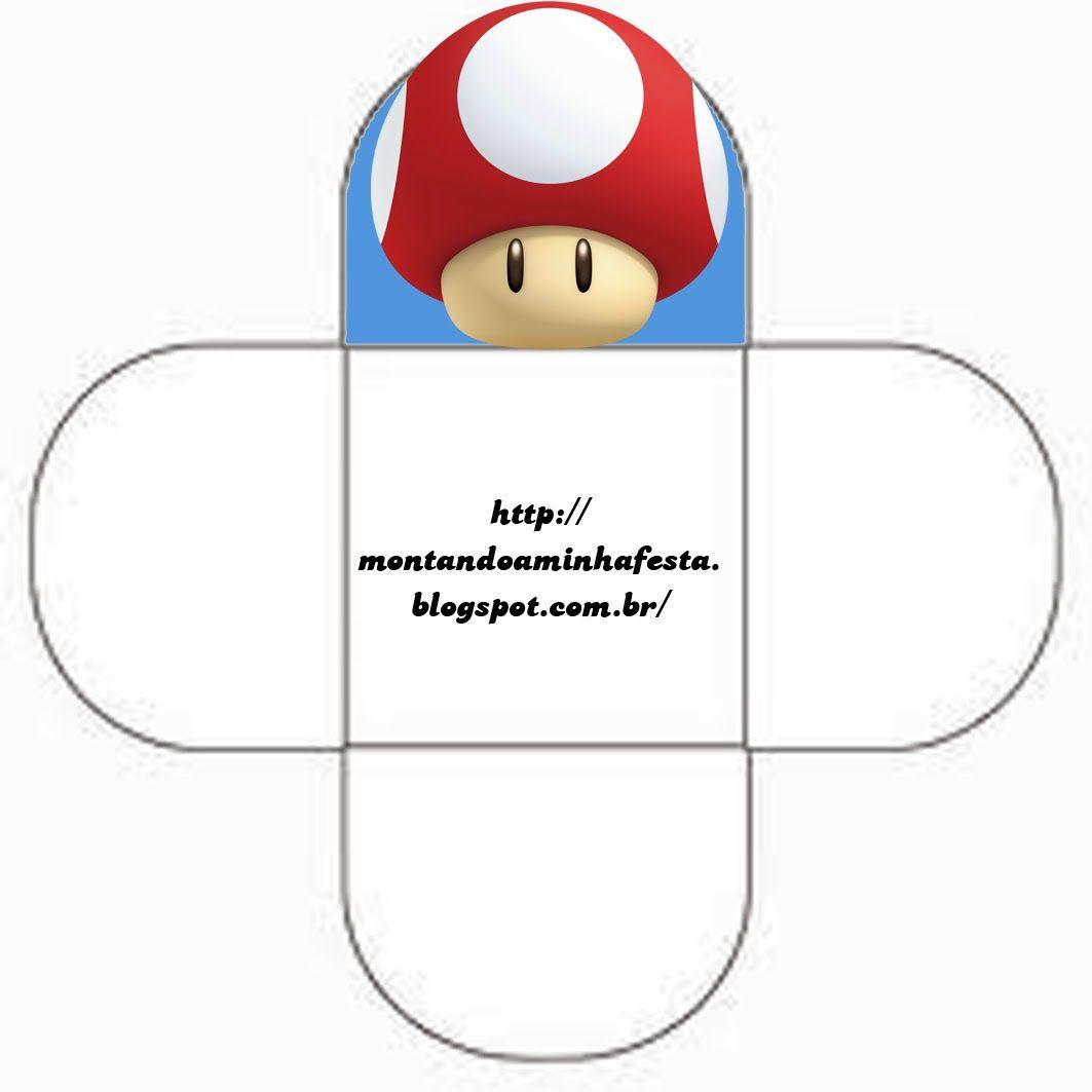 Cajas de Super Mario Bros para Imprimir Gratis. | súper mario ...