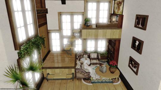Alice S House Designs In Final Fantasy Xiv House Design Fantasy House Design
