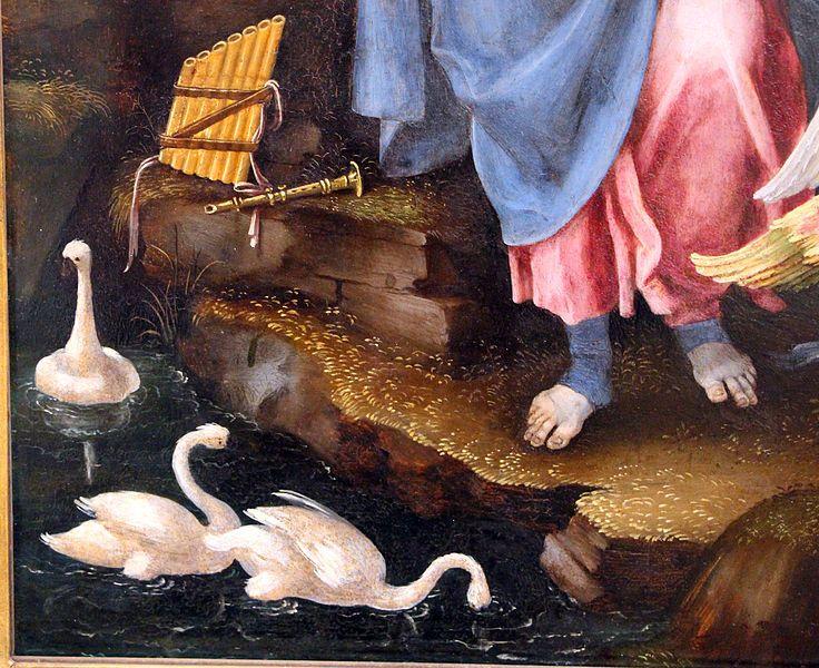 Filippino Lippi - Allegoria della Musica (o Erato), dttaglio - 1500 circa - Berlino, Staatliche Museen