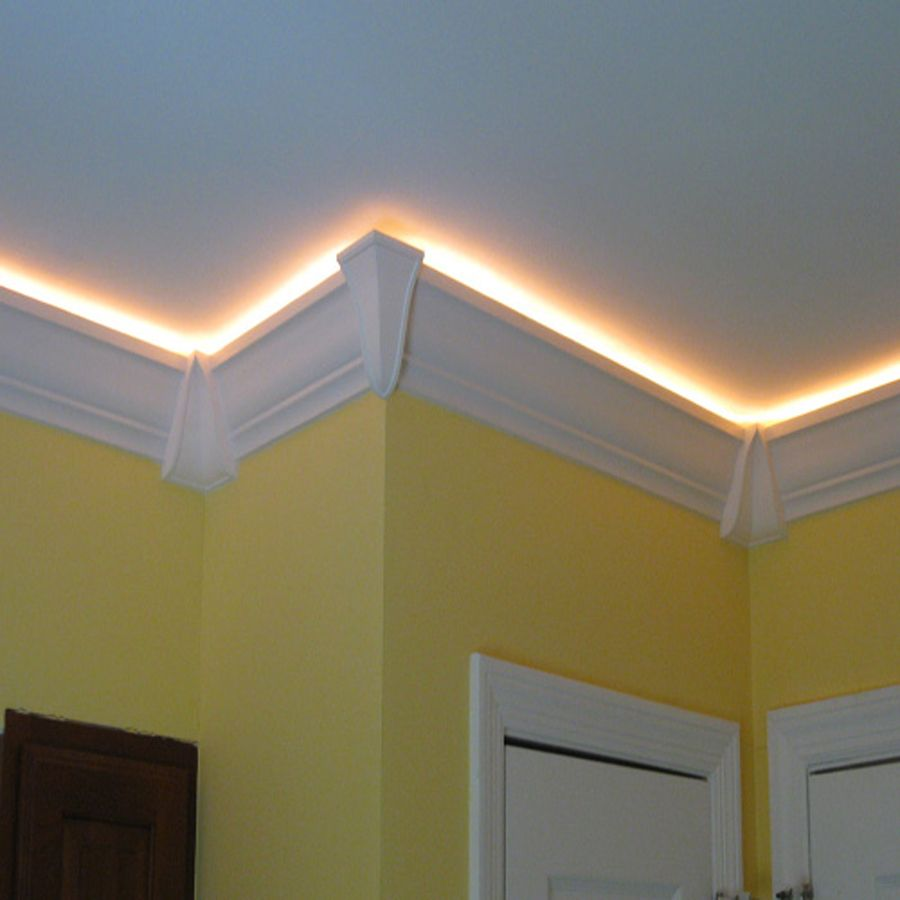 crown molding lighting. Shop RowlCrown Straight 4-in X 8-ft PVC Greenwich Crown Moulding At Lowes Molding Lighting