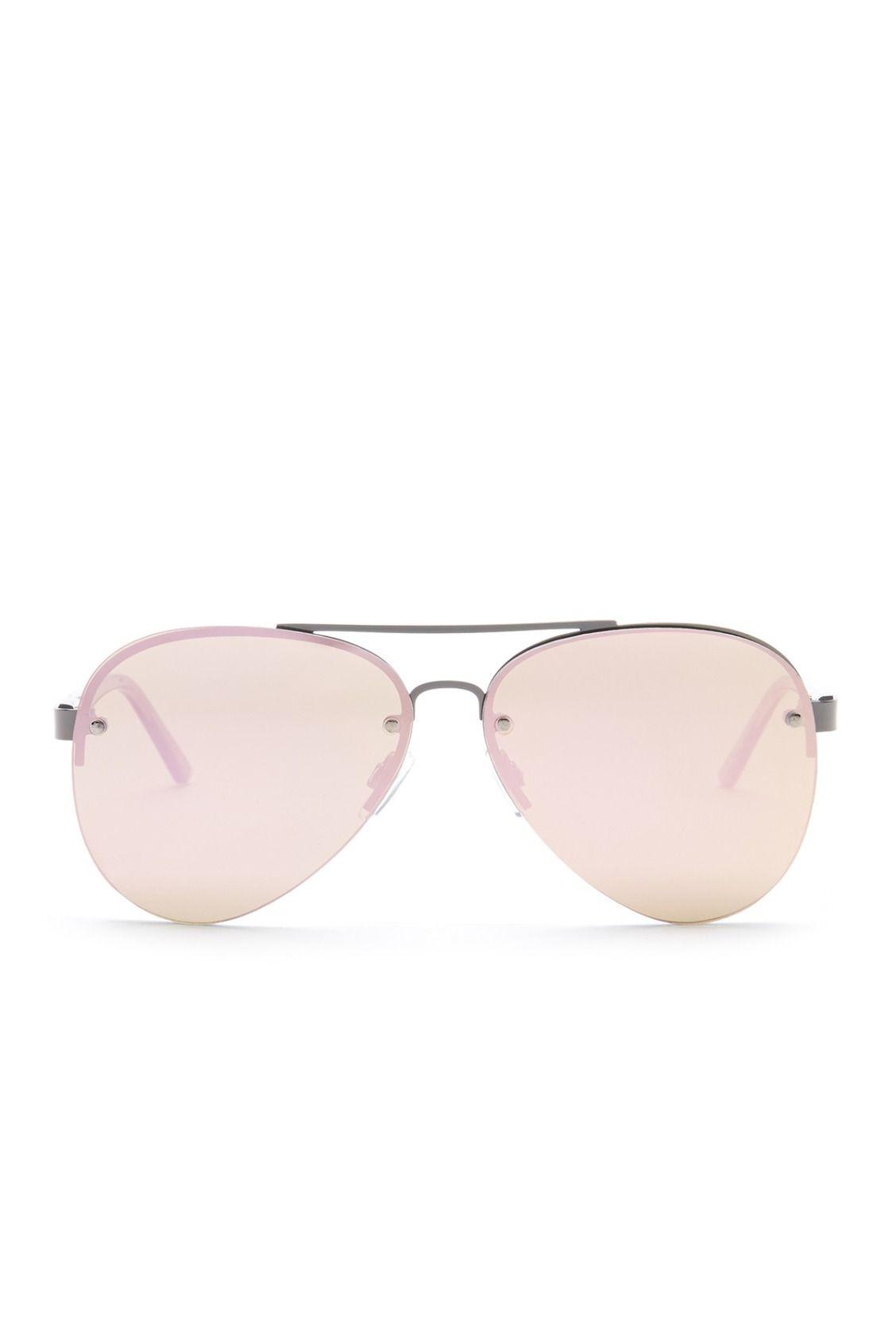 d469be5d12e19 Lucky Brand Gunmetal Women s Aviator Sunglasses