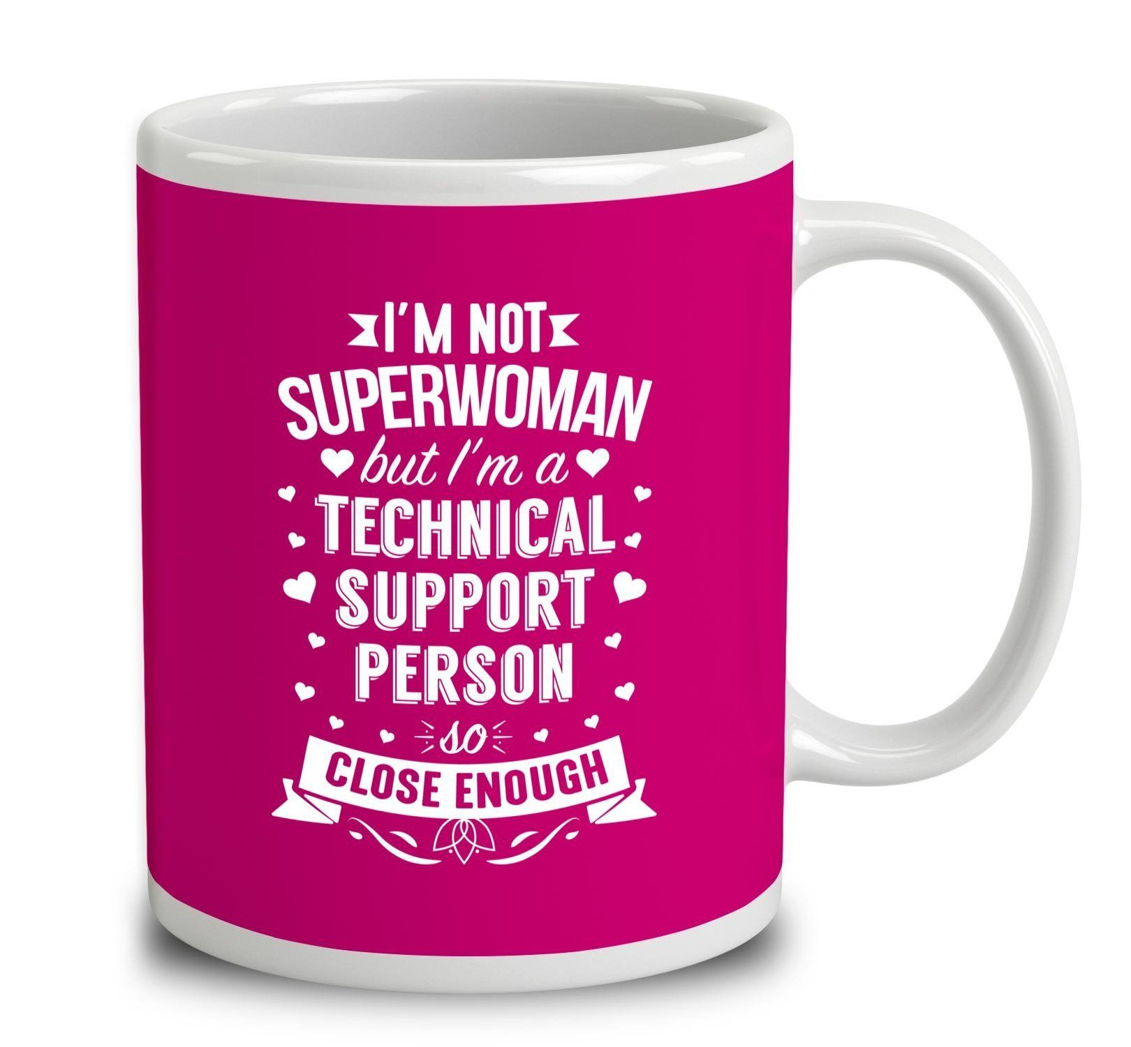 I'm Not Superwoman But I'm A Technical Support Person