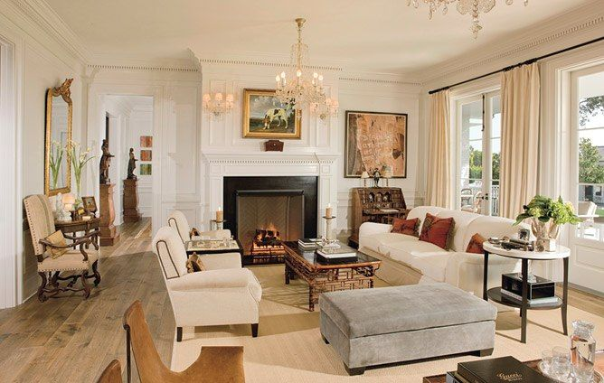 Celebrity Living Rooms Georgian Style Homes Pretty Living Room Country Living Room