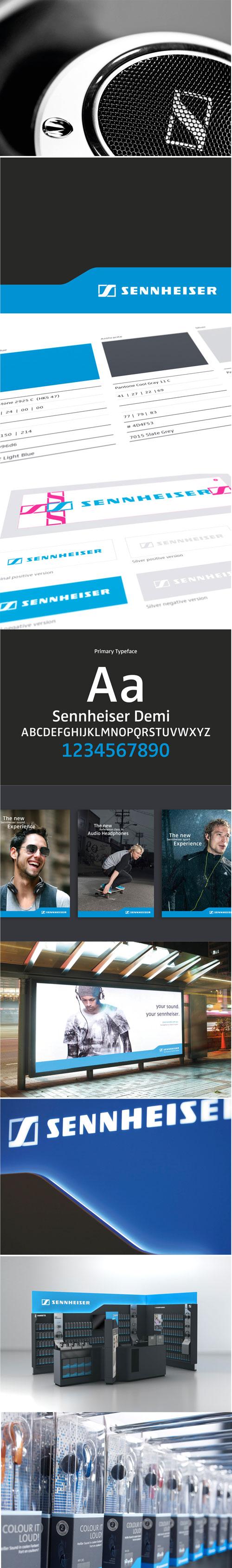 Sennheiser_Corporate Design_by SYNDICATE DESIGN AG #brand #Corporate #design #hifi #Syndicate